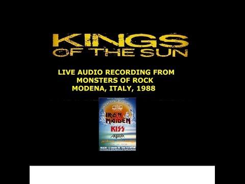 #KINGSOFTHESUN LIVE #MonstersOfRock Modena, Italy 1988