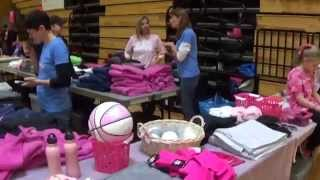 Miles of Hope Merchansise and Raffle at Hoops 2015