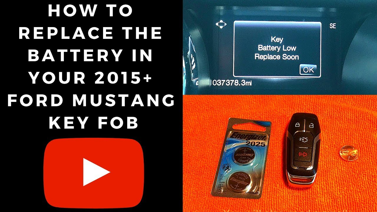 Key Fob Battery Low >> Key Fob Battery 2015 S550 Mustang Forum Gt Ecoboost Gt350
