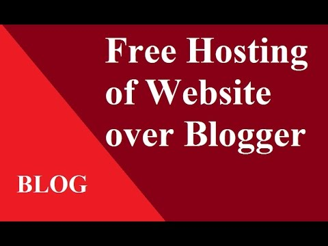 Free Hosting of Booked Domain on Godaddy over Google Blogger