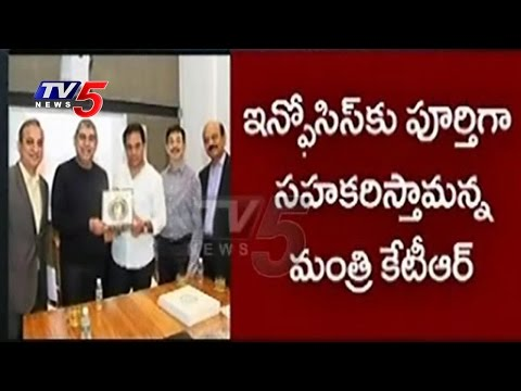 Good News To Telangana Unemployed | 25,000 Infosys Jobs In 1 Year | Hyderabad | TV5 News