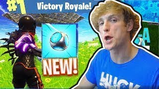 LOGAN PAUL GETTING HIDDEN SKINS AN WEAPONS ON FORTNITE!!!!