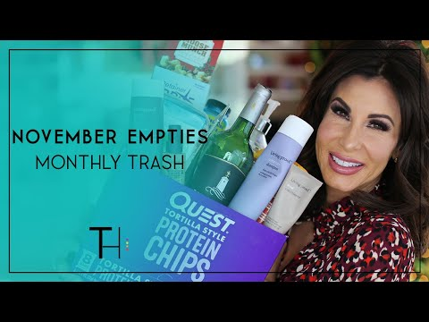 November Empties | What's In My Trash