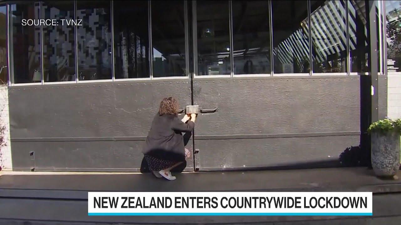New Zealand enters lockdown