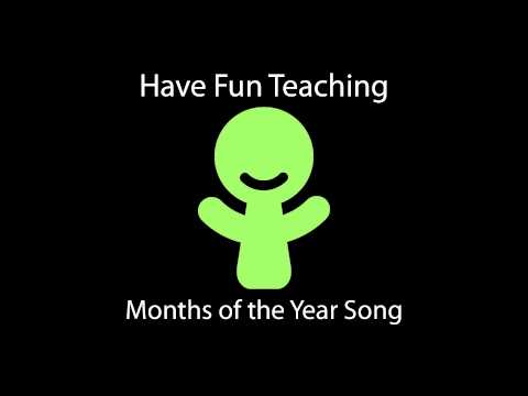 Months of the Year Song - Audio