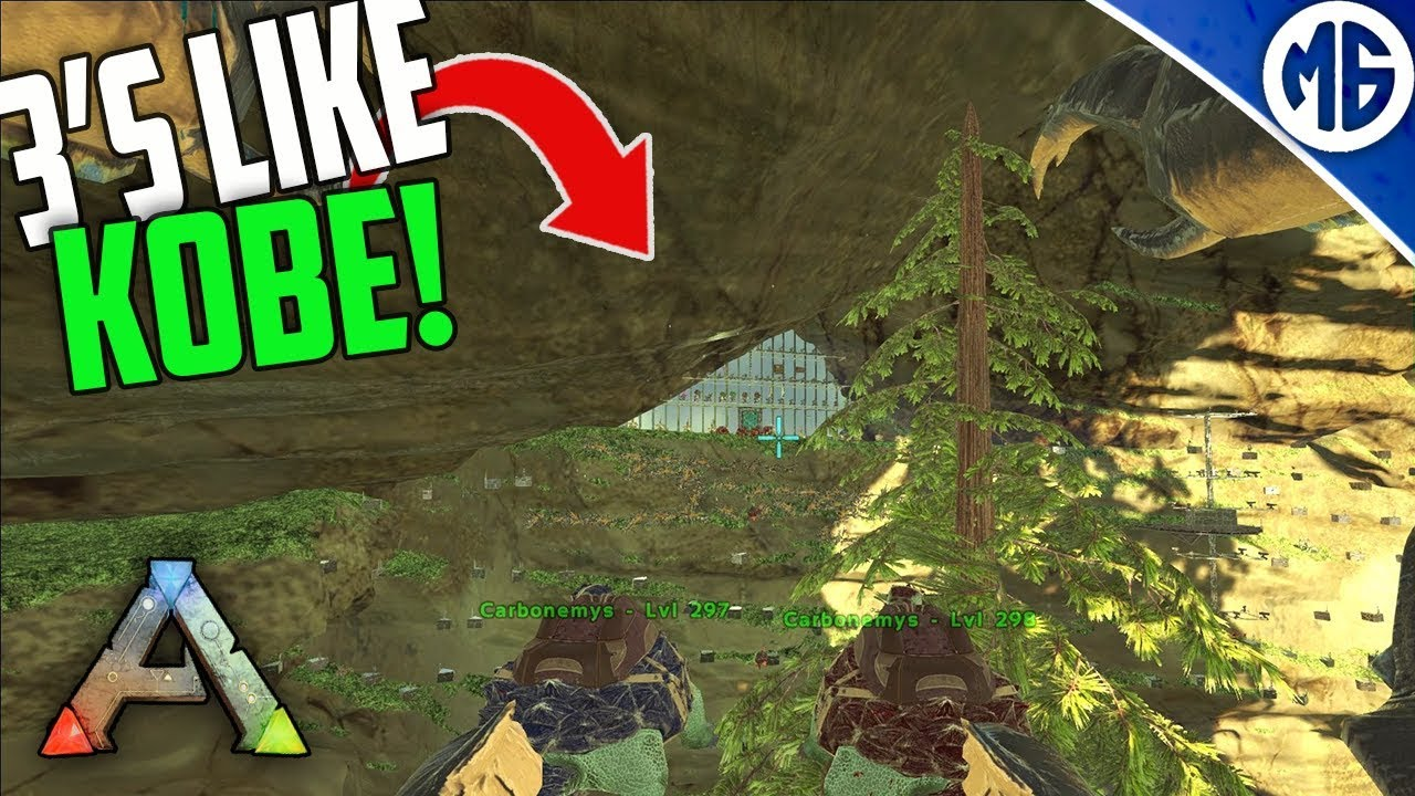 BEST TURTLE THROWER IN THE GAME! (KOBE) 3 Man PvP Servers - Ark: Survival  Evolved