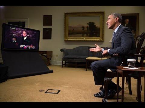 President Obama Gets Asked