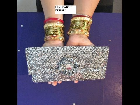 DIY: MOTHERS DAY GIFT A PURSE / CLUTCH / CARD  VIDEO 1