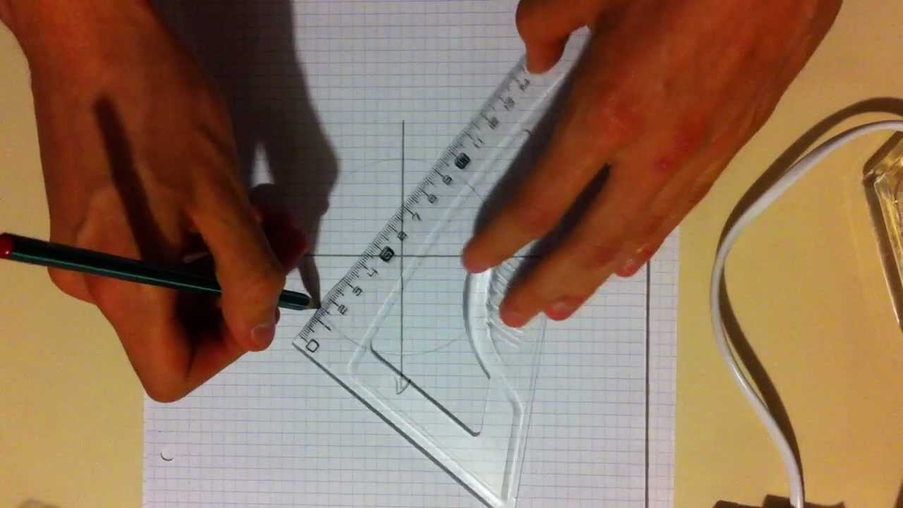 Dessiner un angle de 30 degr s youtube - Comment couper un angle a 45 degres ...