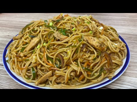 Chicken Chow Mein By Cooking Passion