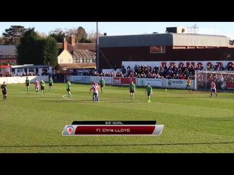 Chris Lloyd Goal   Bromsgrove Sporting - Coventry Copsewood   Midland Football League 2016/17