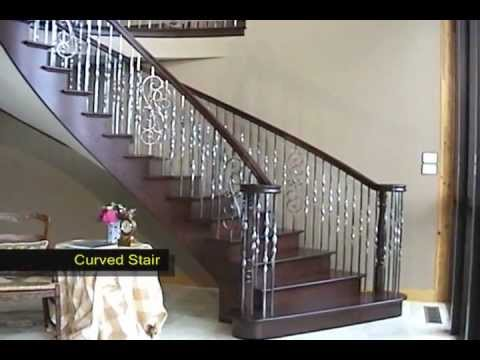 Curved Stair By Designed Stairs, Inc.