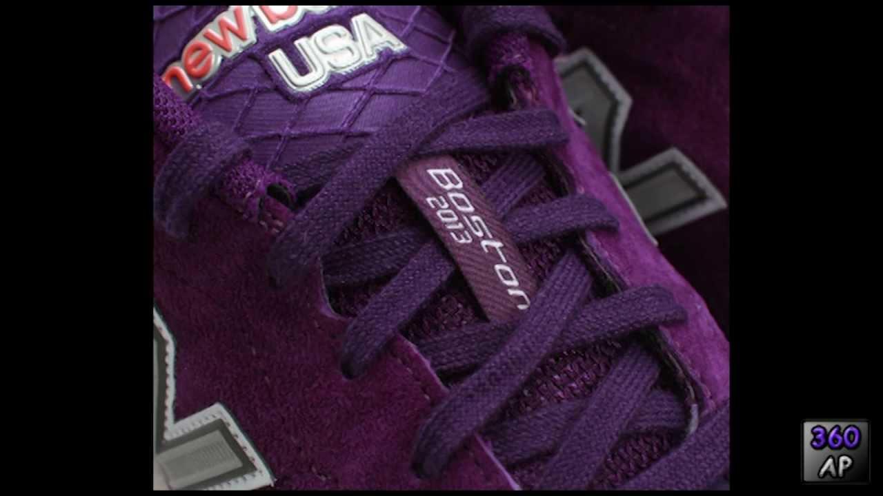 on sale f40f7 2d9f2 Explosion Symbol in the New Balance Boston Marathon Runner Shoe - 360AP