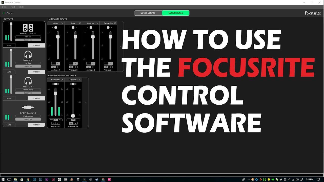 focusrite control
