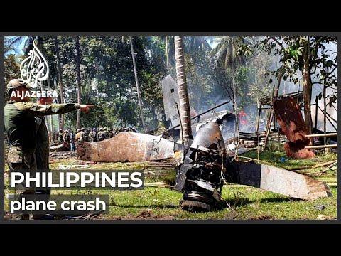 Philippine military's worst air disaster kills 50
