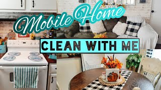 SINGLE WIDE MOBILE HOME CLEANING MOTIVATION   MOBILE HOME CLEAN WITH ME   CLEAN WITH ME ME 2021