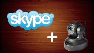 Подключение IP камеры к скайпу / how to use ip camera for skype(Как настроить Skype для работы с IP камерой. Обещанные ссылки: http://manycam.com/ http://ip-webcam.appspot.com/, 2014-10-14T08:40:40.000Z)