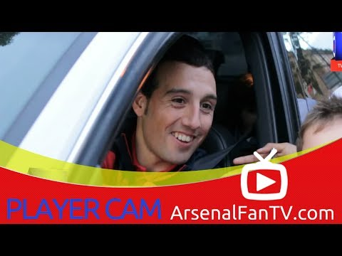 Santi Cazorla Makes Time For The Fans - Player Cam - ArsenalFanTV.com