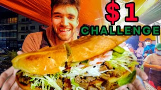 The Ultimate MEXICAN $1 STREET FOOD TOUR!