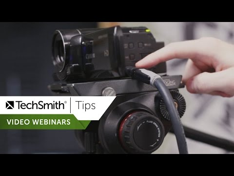 Getting Started with Video Webinars - TechSmith Tips