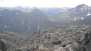 Nordre Trolltind - spectacular view, Trollveggen, Romsdalen