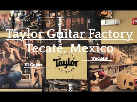 Taylor Guitar Factory   Tecaté, Mexico: Guitar Production