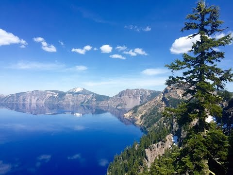 Hiking at Crater Lake National Park