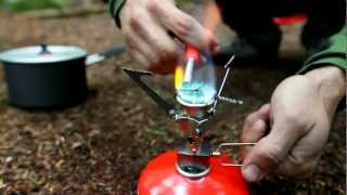 MSR Microrocket Stove - One of the lightest, smallest, most stable gas cannister stoves out there! Thumbnail