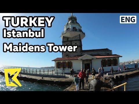 【K】Turkey Travel-Istanbul[터키 여행-이스탄불]처녀의 탑 크즈 쿨레시/Maidens Tower/Kız Kulesi/Bosphorus Straits