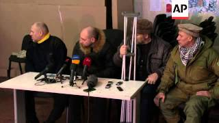 Militant anti-government group says they are ready to fight if diplomacy fails