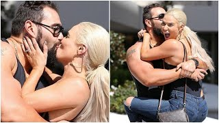 WWE RAW 20th April 2020 Lana Passionate kiss To Rusev After He Released  From WWE
