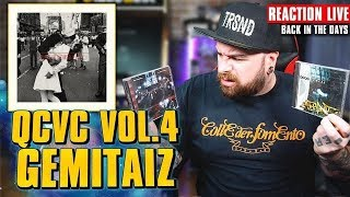 Gemitaiz - QVC4 mixtape * REACTION LIVE * Back in the days