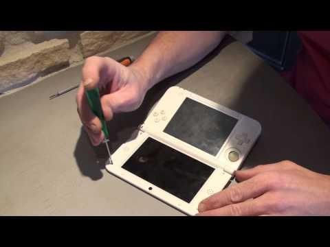 tuto pour remplacement ecran haut de la 3DS-XL