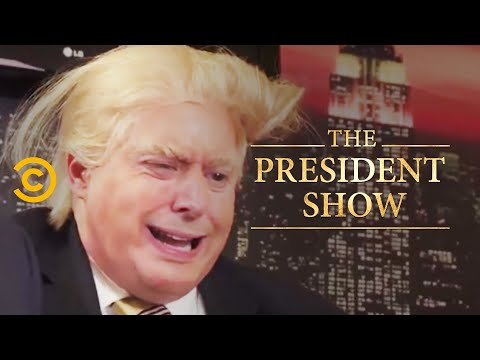Donny Goes Home - The President Show - Comedy Central