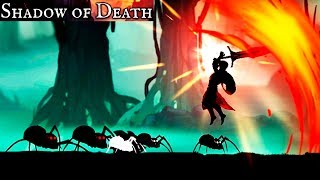 ТЕНЬ СМЕРТИ прохождение игры #1 пауки и всякая мерзость SHADOW of DEATH spiders and the abomination