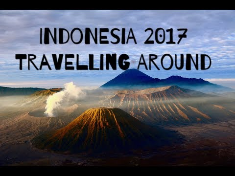 TRAVELLING INDONESIA 2017. Backpacking around Java, Borneo, Bali, Komodo NP.