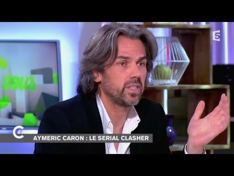 Aymeric Caron, serial clasheur - C à vous - 10/10/2014