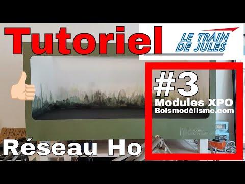 Tutoriel Réseau Ho 3 Modules Xpo Bois Modélisme Youtube