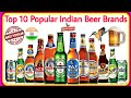 Top 10 Popular and Famous Beer Brands in India 2019 🍺   इंडिया के 10 सबसे पॉपुलर बियर ब्रांड    