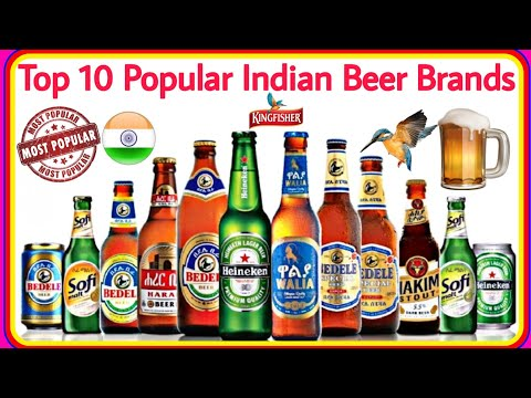 Top10 Most Selling Beer Brands Of India❗Popular Beer Brands India❗Famous Beer Brands Of India❗