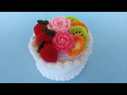 DIY Amigurumi AMIGURUMI DOLCETTI TUTORIAL, IDEAS BOMBONIERE CAKE ... | 360x480