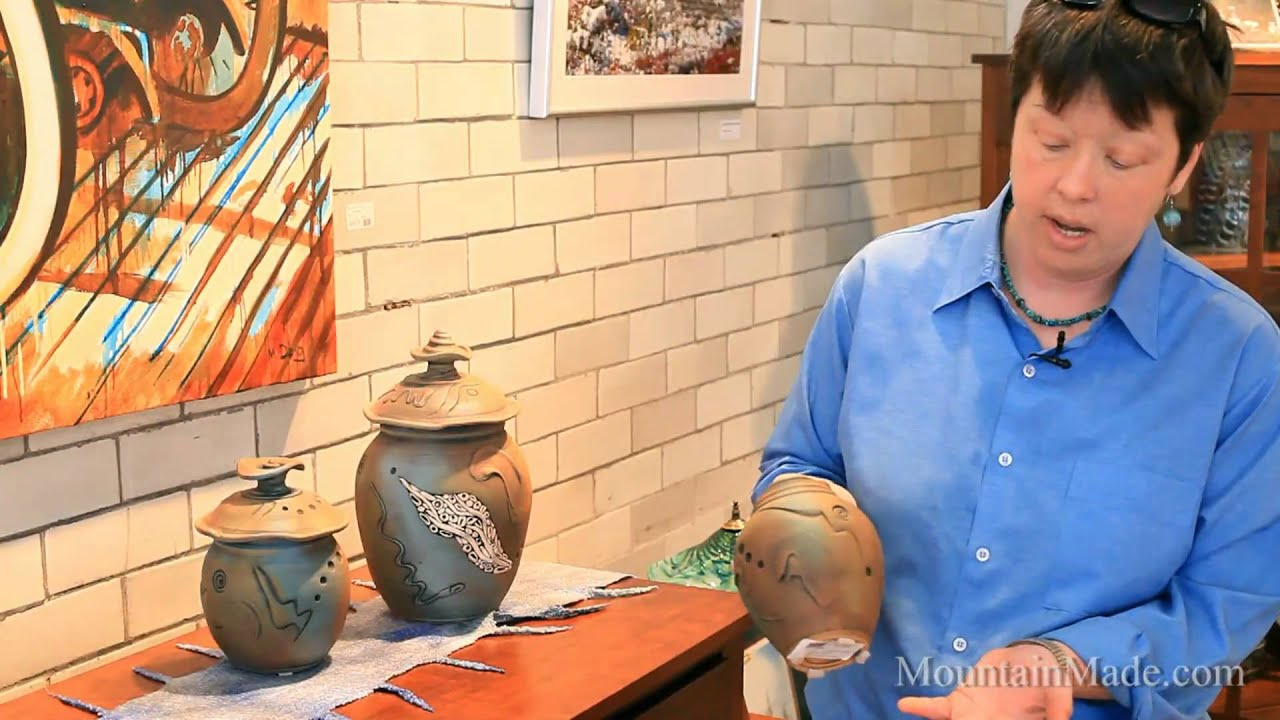 Lahti Art Clay Studio ceramics by Keith Lahti at MountainMade com  YouTube