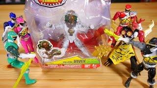 海外版の獣電戦隊キョウリュウジャー「パワーレンジャーダイノチャージ / Power Rangers Dino Charge」の玩具レビューです。 パワーレンジャーの再生...