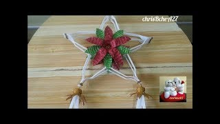 DIY#72 Christmas Lantern / Parol Made Of Recycled Plastic Fork #2