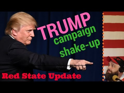 Trump Wants Out? Campaign Staff Shake-Up! (Evenin' Folks #7)