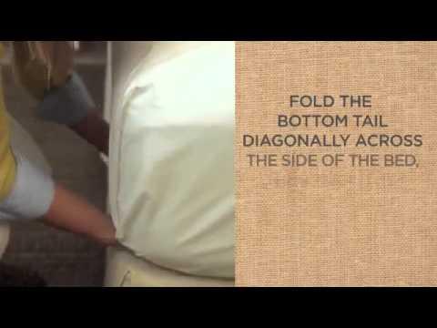 Как застелить постель в отеле