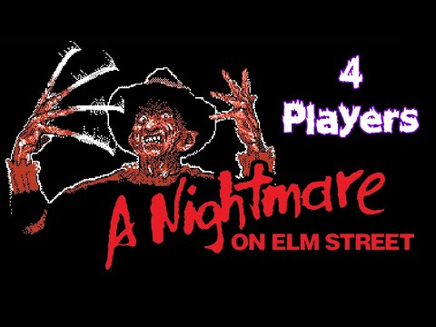 4-Player Nightmare on Elm Street (NES) James and Mike Mondays