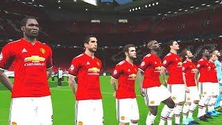 Manchester United vs Newcastle United 18 November 2017 Gameplay