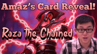 [Hearthstone] Legendary Card Reveal: Raza the Chained