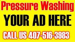 Concrete Pressure Washing in Ocoee FL | CALL US| 407-516-3983